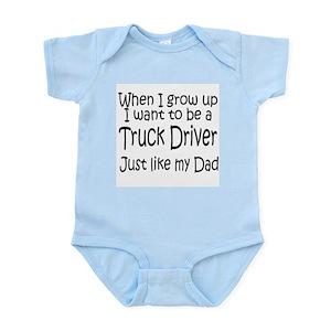 048e6d38 Trucker Baby Clothes & Accessories - CafePress