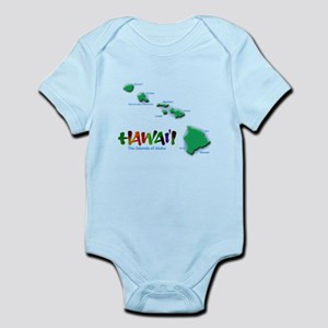 Hawaii Islands Infant Bodysuit