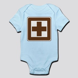 First Aid Sign Infant Bodysuit