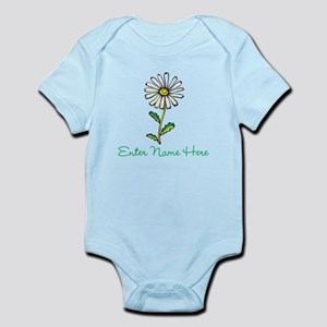 Personalized Daisy Infant Bodysuit