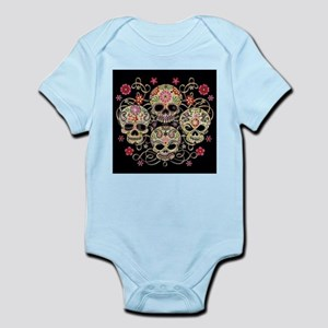 bbd5444a4 Girly Skulls Baby Clothes & Accessories - CafePress