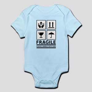 Fragile Please Handle With Care Body Suit