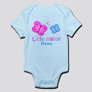 8c39c062c9035 Big Sister Butterfly Baby Clothes & Accessories - CafePress