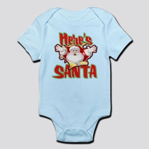 Here's Santa Infant Bodysuit