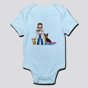 Woman Veterinarian Infant Bodysuit