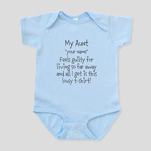8f490d381 fun auntie definition T-Shirt. $14.00. $24.99 · Aunt Guilty Personalized  Body Suit