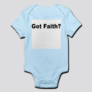 Got faith? Infant Creeper
