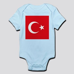 Flag of Turkey Body Suit