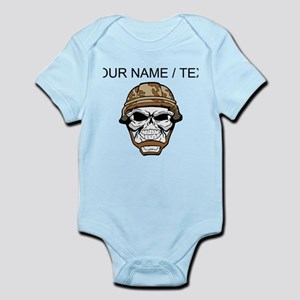 b576e5ff8 German Military Skull And Helmet Baby Clothes & Accessories - CafePress