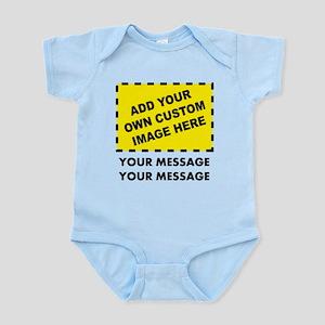 0725ded5b Custom Image & Message Infant Bodysuit
