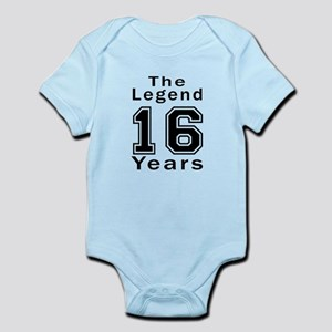 16 Legend Birthday Designs Infant Bodysuit