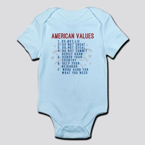 American Values Body Suit