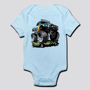 0026ee167fe Monster Truck Baby Clothes   Accessories - CafePress