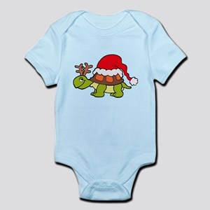 Turtle Christmas Body Suit