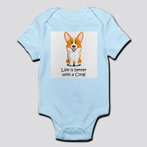 Life Is Better With A Corgi Body Suit