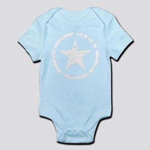 Military Star Grunge Body Suit