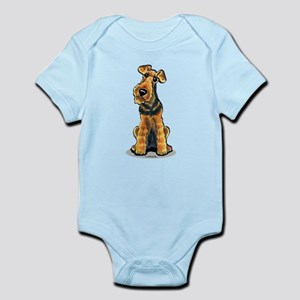 Airedale Welsh Terrier Infant Bodysuit