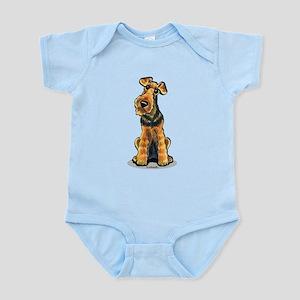 Airedale Welsh Terrier Infant Bodysuit