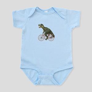 Cycling Tyrannosaurus Rex Infant Bodysuit