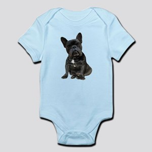 French Bulldog Puppy Portrait Infant Bodysuit