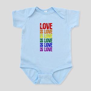 Love is Love is Love Infant Bodysuit