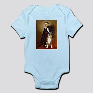 Lincoln & his Boxer Infant Bodysuit