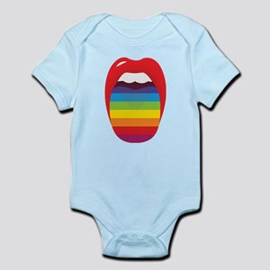 Lipstick Lesbian Domination Infant Bodysuit