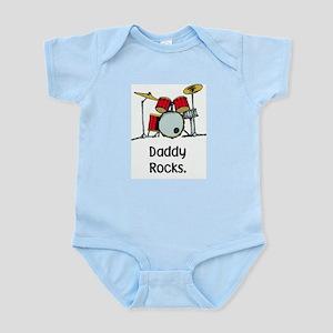 daddy rocks Body Suit