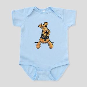 Welsh Terrier Paws Up Infant Bodysuit