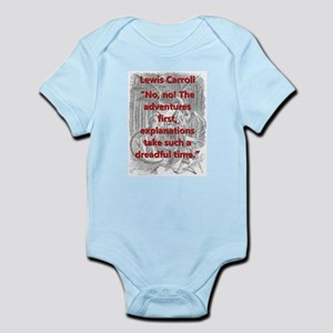 No No The Adventures First - L Carroll Body Suit