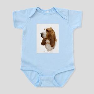 Basset Hound 9J055D-15 Infant Bodysuit