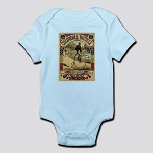 Vintage poster - Columbia Bicycle Body Suit