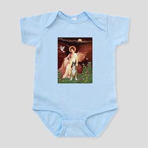 Seated Angel & Boxer Infant Bodysuit