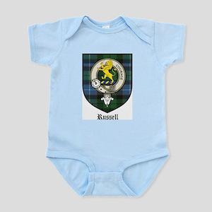 Russell Clan Crest Tartan Infant Creeper