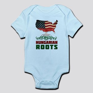 American Hungarian Roots Body Suit
