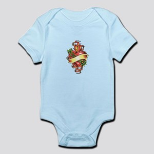 SACRED HEART TATTOO Body Suit