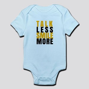 Talk Less Smile More Body Suit