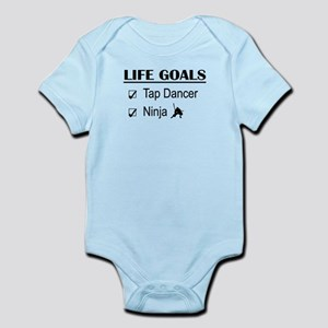 Tap Dancer Ninja Life Goals Infant Bodysuit