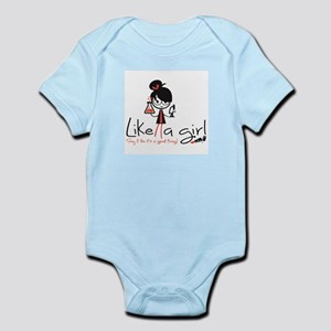 Science Like A Girl! Infant Body Suit