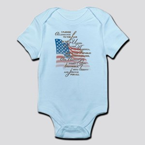 US Pledge - Infant Bodysuit