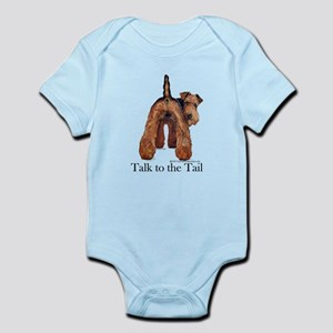 Airedale Terrier Talk Infant Bodysuit