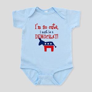 So Cute Democrat Infant Bodysuit