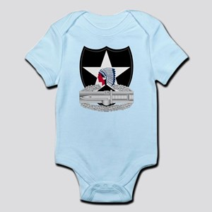 2nd Infantry CAB Infant Bodysuit