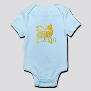 Chinese New Year 2018 - Year Of The Dog Body Suit