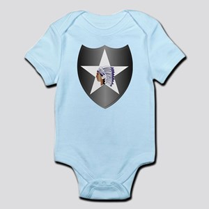 SSI - 2nd Infantry Division Infant Bodysuit
