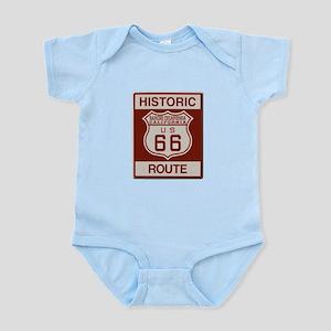 Rancho Cucamonga Route 66 Infant Bodysuit