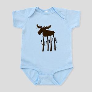 Alaska Moose Infant Bodysuit