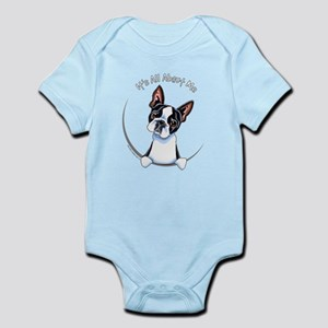 Boston Terrier IAAM Full Infant Bodysuit