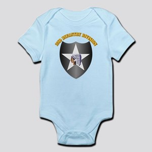 SSI - 2nd Infantry Division with Text Infant Bodys