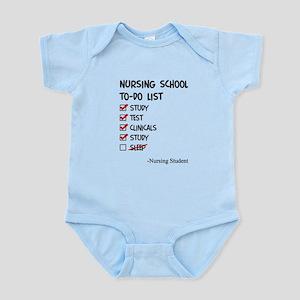 Nursing Student To-Do List Body Suit